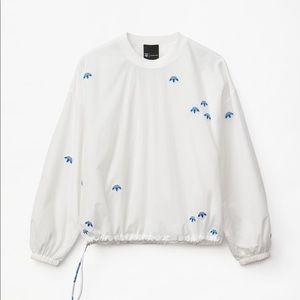 Alexander wang adidas windbreaker sweatshirt NWT